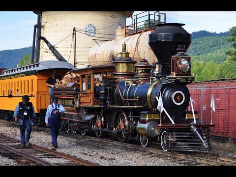 Steam Train Eureka No. 4 On The D&SNGRR Annual Special 2013