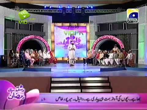 Download OWAIS RAZA QADRI_WAH WAH SUBHAN ALLAH (PART 2) 6 AUGUST 2011 GEO TV
