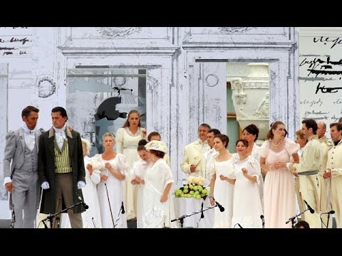 """""""EUGENY ONEGIN"""" opera by Tchaikovsky  II Open Air Festival All Together Opera 2013"""