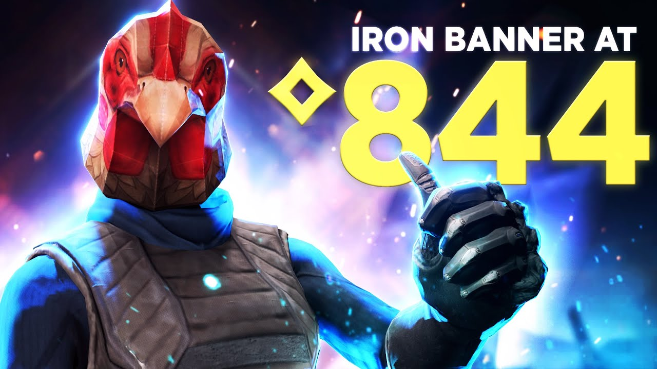 Playing Iron Banner at the lowest light level possible.. (844 Power)