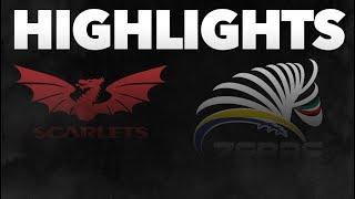 Guinness PRO14 Round 3: Scarlets v Zebre Rugby Highlights