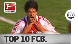 Top 10 Goals - Bayern Munich Legends
