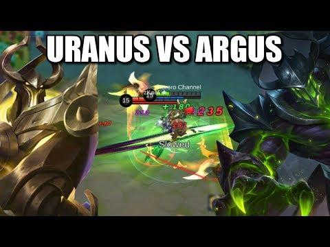 URANUS VS ARGUS HEAL AND IMMORTALITY