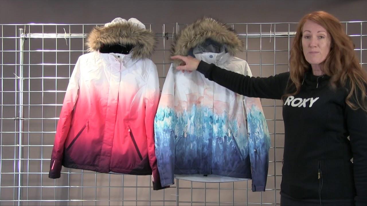 e8e08aaf997 Roxy Women s Jet Ski Special Edition Jacket 2018-2019 - YouTube