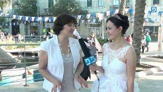 Parade of brides in JERUSALEM (JerusalemDay) Парад невест в Иерусалиме!
