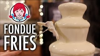 DIY Wendy's LEGIT Fondue Fries