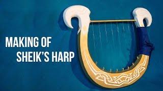 Making of Sheik's Harp
