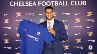 Álvaro Morata joins Chelsea on five-year contract