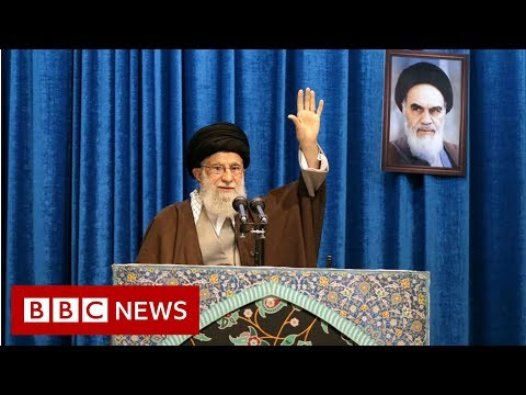 Iran plane crash: Khamenei defends armed forces in rare address - BBC News