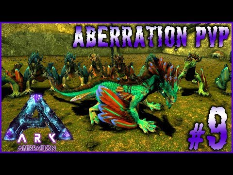ARK ABERRATION PVP - #9 ►ELEVAGE DE ROCK DRAKE INDUSTRIEL [FR]