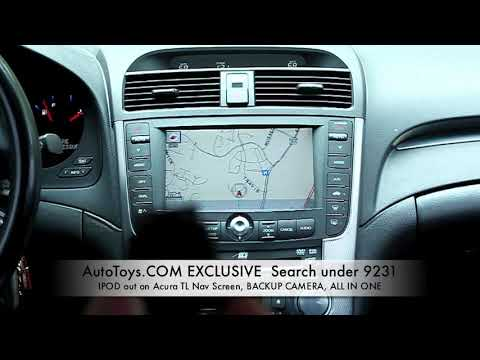 ACURA TL IPOD VIDEO TO NAVigation Backup Camera Ipod Iphone Control - 2005 acura tl navigation update