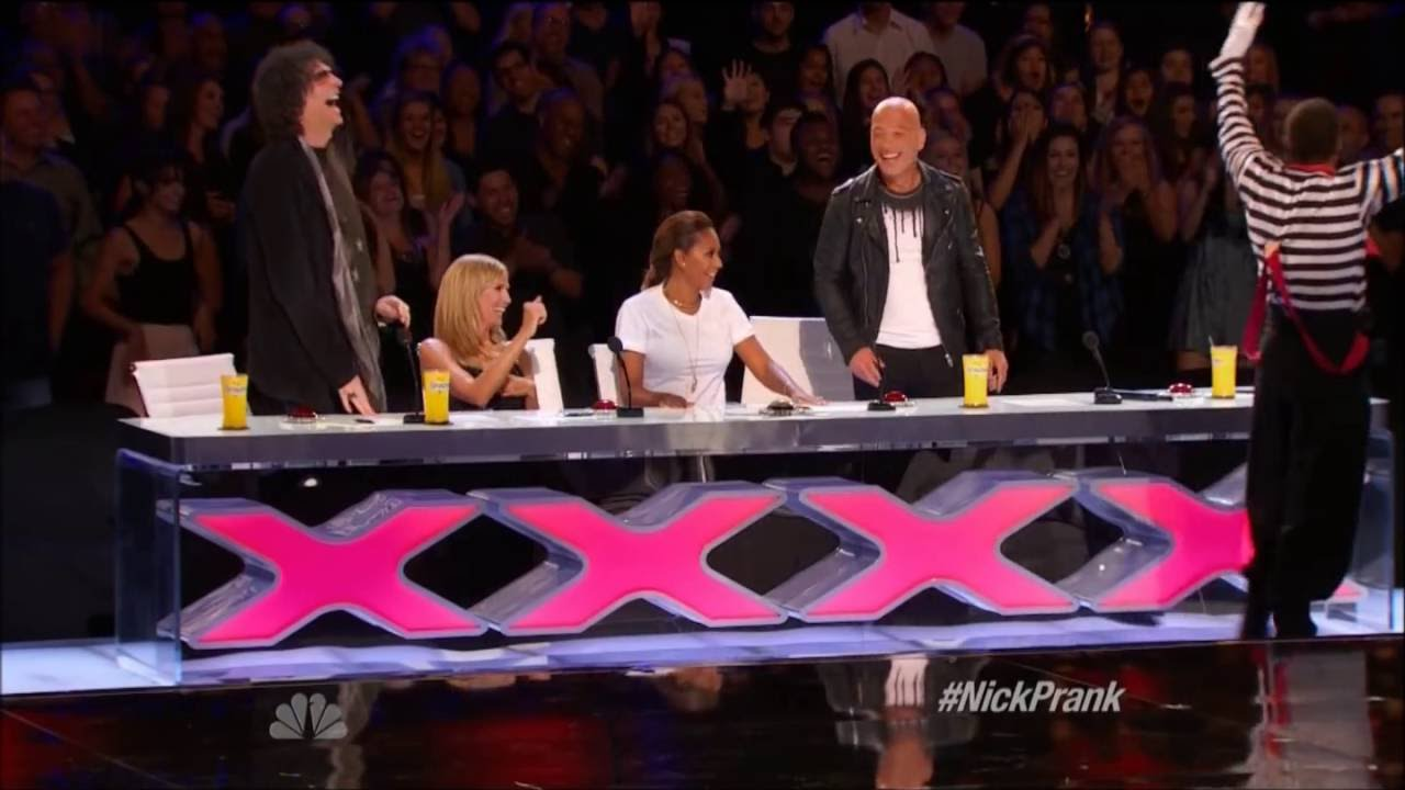 America's Got Talent: Tape Face mime stuns with puppets ...