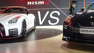 2017 NISSAN GTR NISMO VS 2017 NISSAN GTR