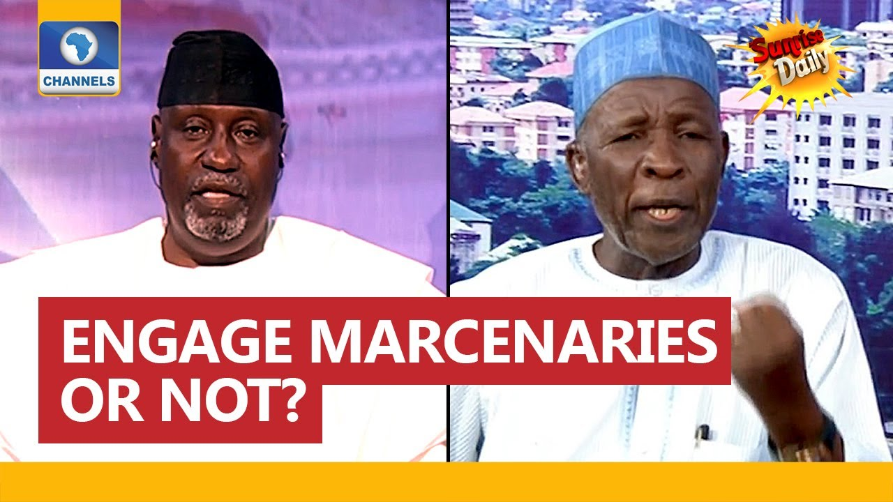 Download Buba Galadima Disagrees With APC Chieftain Over Use Of Mercenaries To Tackle Insurgency In Nigeria