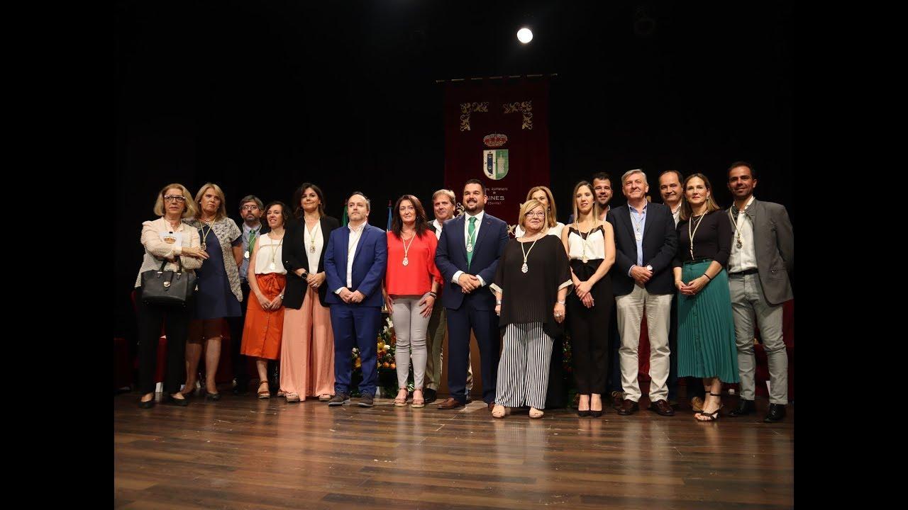 Sesión Constitutiva del Ayuntamiento de Gines 2019 (COMPLETO)