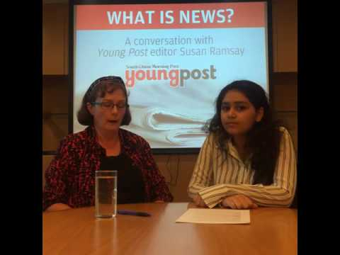 Young Post editor Susan Ramsay answers your questions about news and journalism
