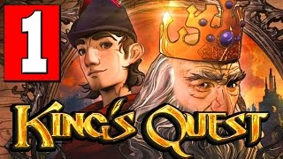 Kings Quest Chapter 1: A Knight to Remember Walkthrough Part 1 Lets Playthrough Review PS4 XBOX PC