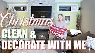 CHRISTMAS CLEAN & DECORATE WITH ME 2018 ~ KING OF CHRISTMAS