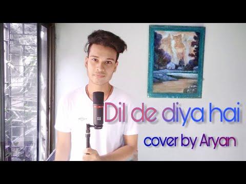 dil-de-diya-hai-|-acoustic-|-cover-|-aryan-|-musical-rhythm-with-aryan