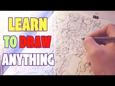 The Fastest Way To Get Better At Drawing! - How To Draw