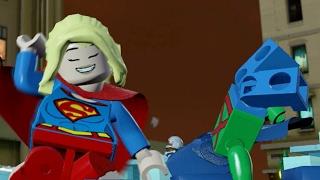 Lego Batman Movie World - Justice League DANCE Party! Free Roam 100% Walkthrough