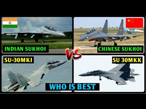 Indian Defence News,Indian Sukhoi vs Chinese Sukhoi,su 30 mki vs su 30mkk comparison,Hindi