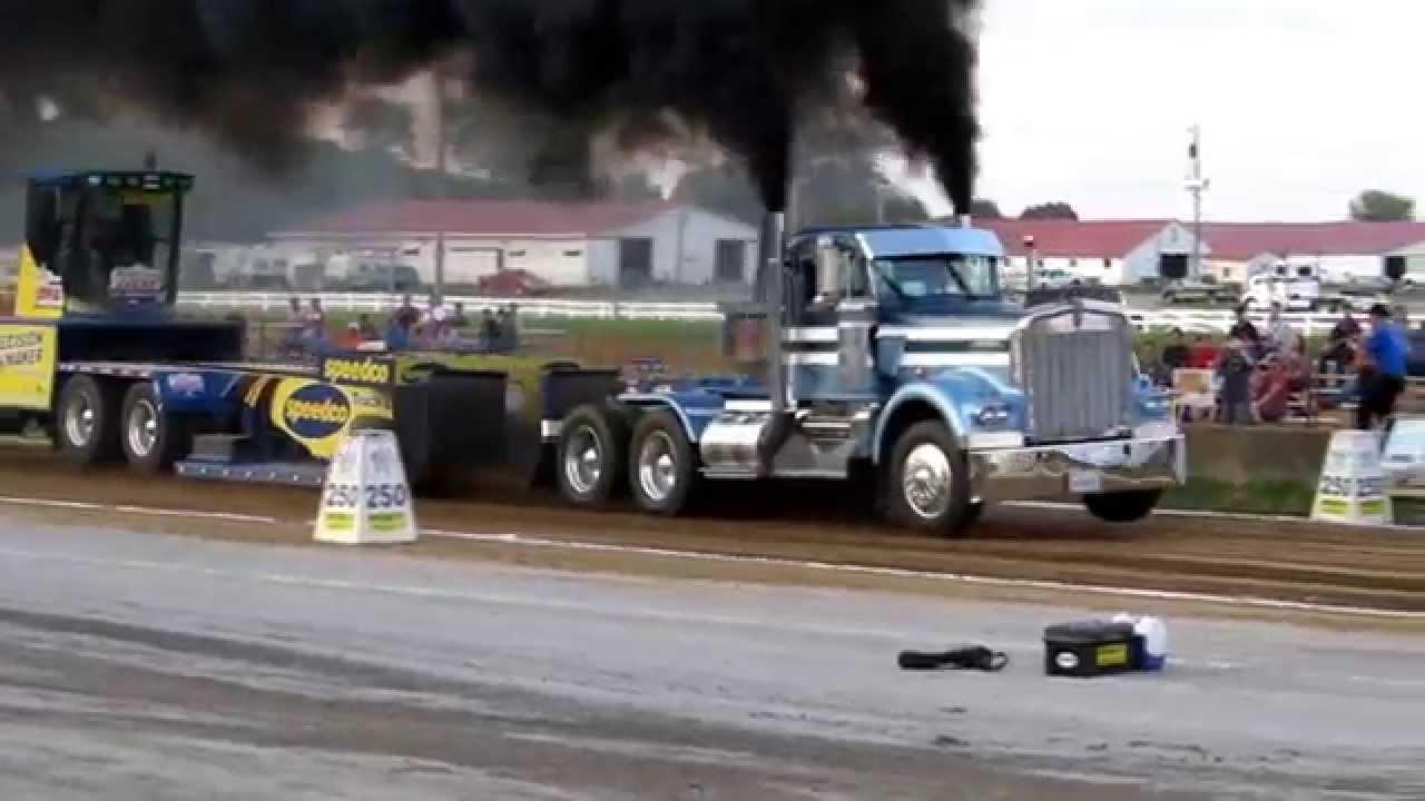 Fpp Pa Posse Semi Trucks Pulling At The Butler Fair 7 3 14