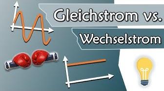 Gleichstrom und Wechselstrom, AC vs DC, Wassermodell | Elektrotechnik Grundlagen #10