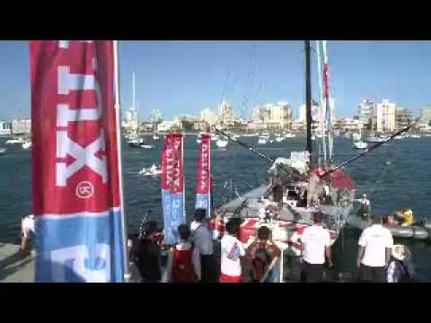 Zacięty finisz trójki zawodników w 3 etapie Velux 5 Oceans - wodniacy.pl