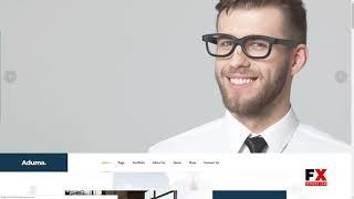 Aduma - Consulting Finance Business WordPress Theme  Wade Shawn