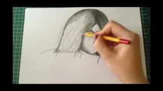 How to draw Mileena Part 2 (Real Time)