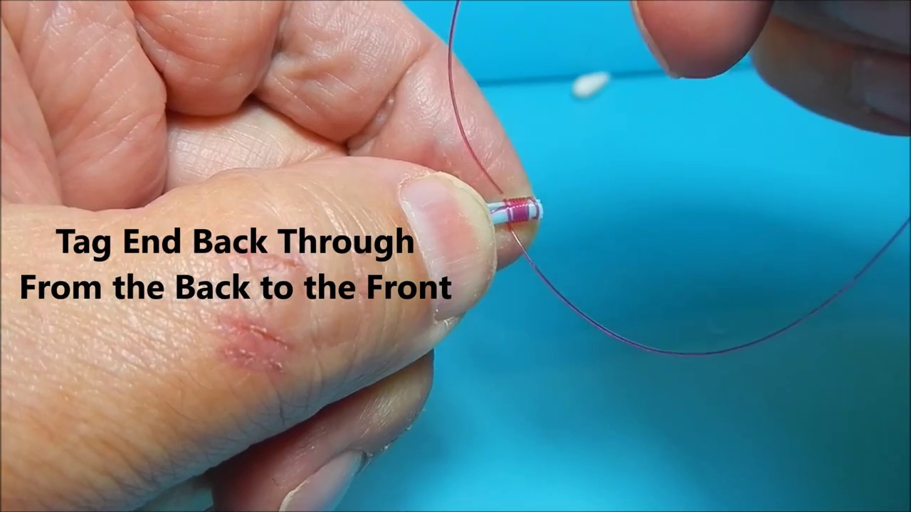 Cheap Nail Knot Tool and Tying a Nail Knot - YouTube