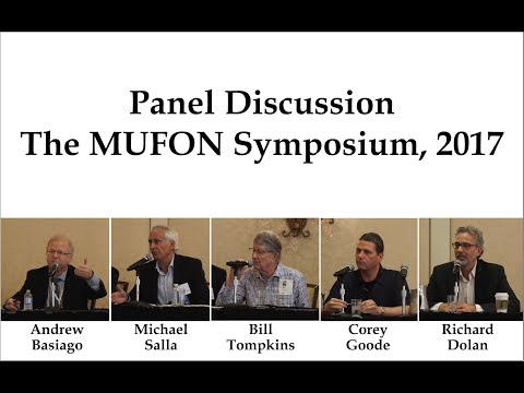 Panel Discussion, MUFON Symposium 2017