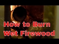 Best Way To Burn Wet Firewood