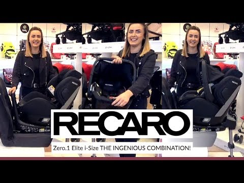 Recaro Zero.1 Elite I-size Car Seat Store Demo - Direct2Mum