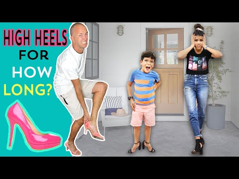 Last To Take OFF The HIGH HEELS! Wins MOST EXPENSIVE PAIR OF SHOES!