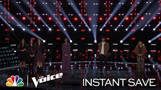 Who Will Win the Wildcard Instant Save? - The Voice Live Top 17 Results 2020