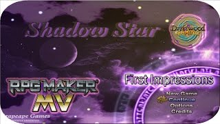 First Impressions - Shadow Star - Great Parallax Mapping - Good Storyline - Balanced Combat - RPGMMV