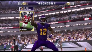 John Brown With The Dance Moves !!! 76 Yrd TD Madden NFL 17