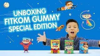 Muntaz Bisa Bikin Mobil, Pesawat & Kapal - Unboxing Fitkom Gummy Special Edition