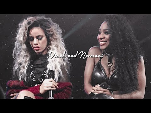 Normani and Dinah dancing backstage from YouTube · Duration:  25 seconds