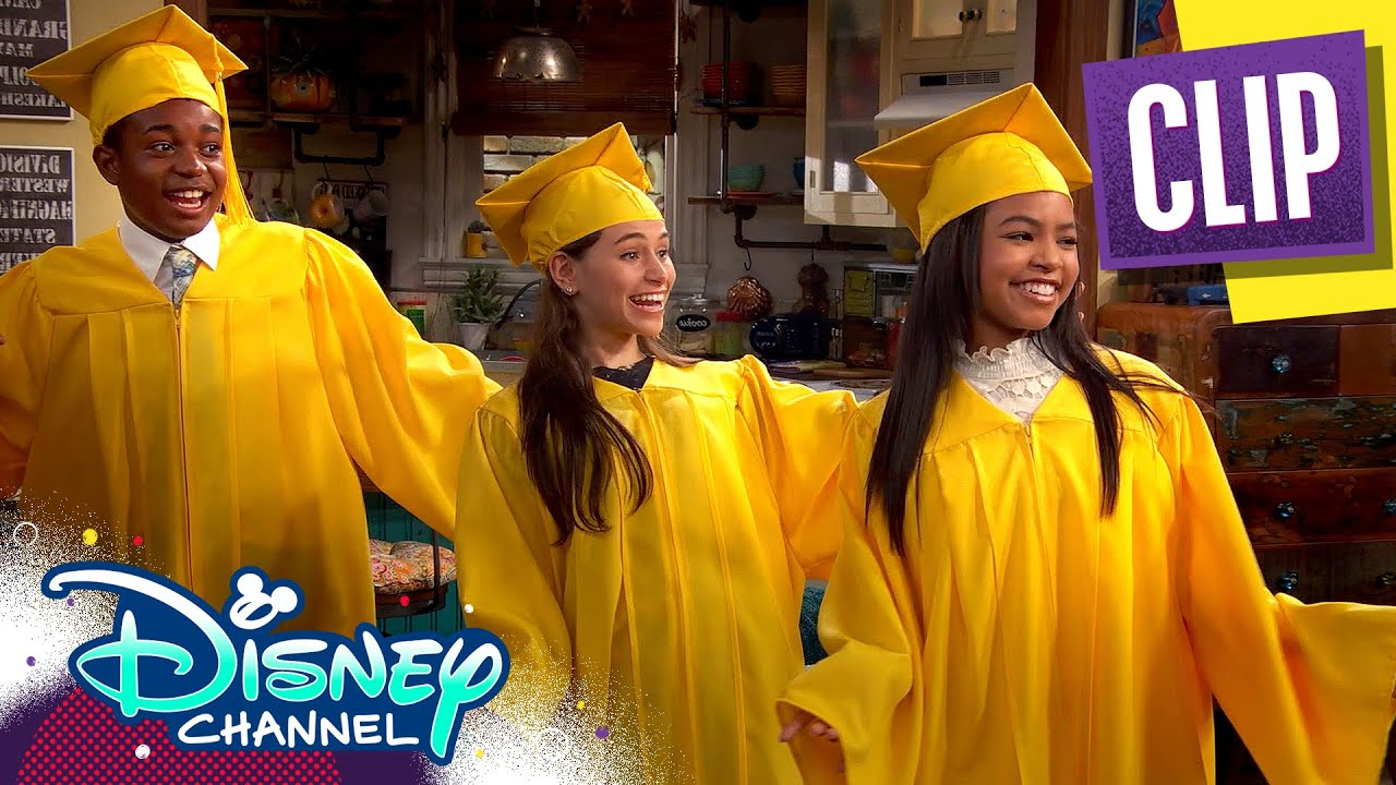 Download Goodbye Middle School 🎓| Raven's Home | Disney Channel