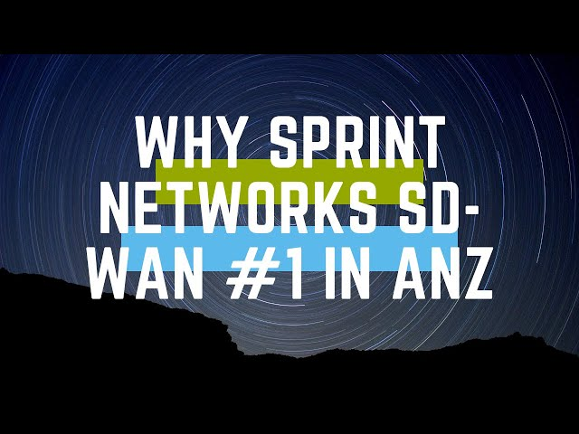 Why our SD-WAN is the best in Australia and New Zealand.