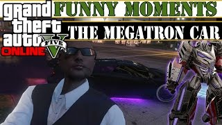 (PS4) GTA 5 Online Funny Moments Ep. 7 - THE MEGATRON CAR