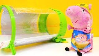 Детское видео. СВИНКА ПЕППА новая серия! Как мама #Peppa Pig - Мама Свинка — ОБГОРЕЛА В СОЛЯРИИ!