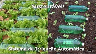 Sistema De Irrigação Automático Sustentável Para Horta