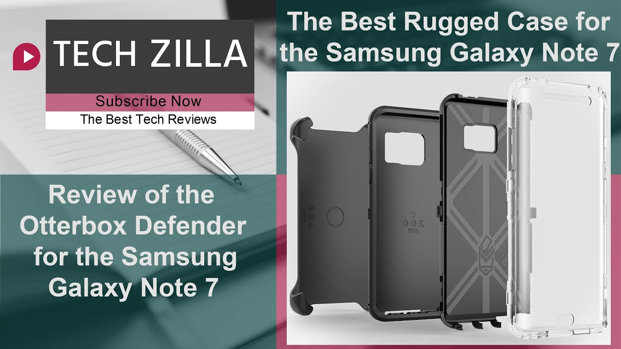 Otterbox Defender for the Samsung Galaxy Note 7 - The Ultimate Rugged Case