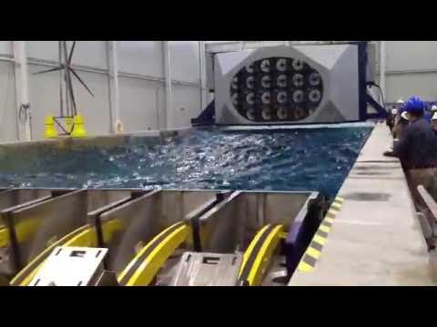 UMaine's Advanced Structures and Composites Center - W2 Wind & Wave Test Pool