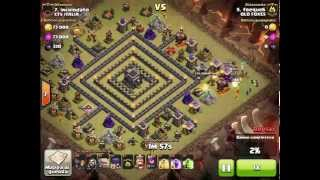 Clash of Clans - TH9 - GOWIWI - 100% 3 stars clan war