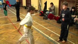 sensei Artur Niezgoda - Oyama Karate trening juniorów 2011- Ronin Żagań